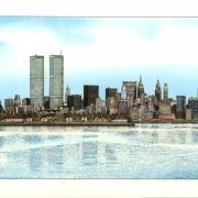Manhattan New York Colored