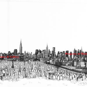 marked New York Skyline