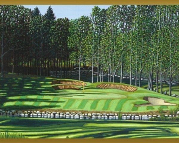 Belgrade Lakes Golf Course Hole 5 Par 3 Web Large