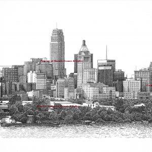 marked Cincinnati Ohio